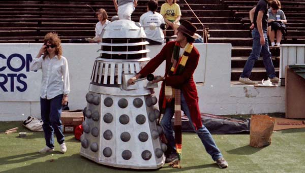Keith and the Dalek